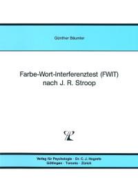Farbe-Wort-Interferenztest