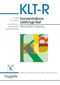 Konzentrations-Leistungs-Test - Revidierte Fassung
