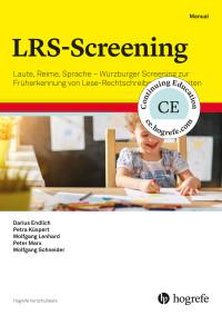 Laute, Reime, Sprache – Würzburger Screening zur Früherkennung von Lese-Rechtschreibschwierigkeiten