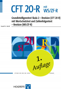 Grundintelligenztest Skala 2 - Revision (CFT 20-R) mit Wortschatztest und Zahlenfolgentest - Revision (WS/ZF-R)