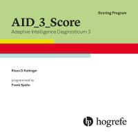 Testauswerteprogramm AID 3 Score, englisch***