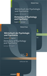 Dictionary of Psychology and Psychiatry / Wörterbuch der Psychologie und Psychiatrie