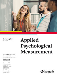 Applied Psychological Measurement
