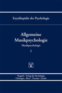 Allgemeine Musikpsychologie