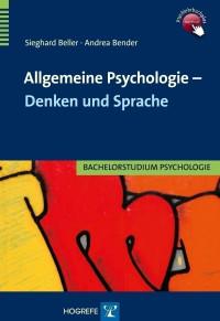 Allgemeine Psychologie – Denken und Sprache